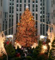 Коледна елха в Ню Йорк